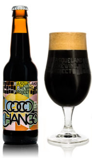 Basqueland Coco Chango Rye Imperial Porter with coconut