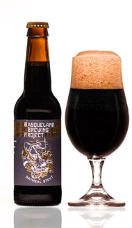 BBP Begi Haundi Oatmeal Stout craft basque beer