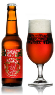 BBP Arraun Amber Ale craft basque beer