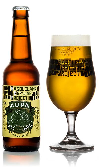 Basqueland Aupa Pale Ale cerveza artesana
