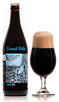 BBP Coastal Eddie Black IPA craft beer