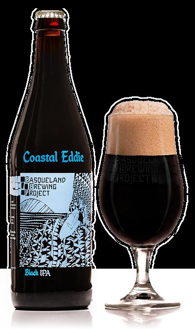 BBP Coastal Eddie Black IPA cerveza artesana