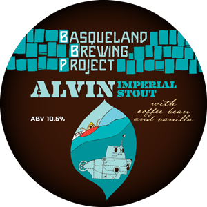Basqueland The Alvin Imperial Stout LIMITED EDITION