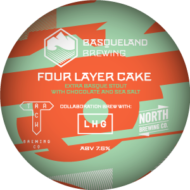 Basqueland Four Layer Cake Extra Stout