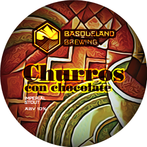 Basqueland Churros con Chocolate Imperial Stout