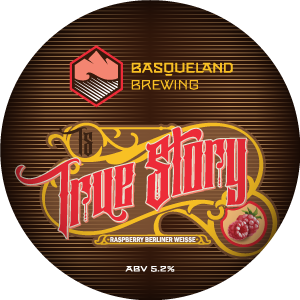 Basqueland True Story Raspberry Berliner Weisse
