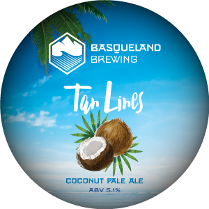 Basqueland Tan Lines Coconut Pale Ale