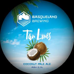Basqueland Tan Lines Coconut Pale Ale