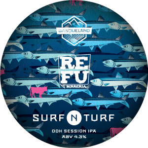 Basqueland Surf N Turf DDH Session IPA