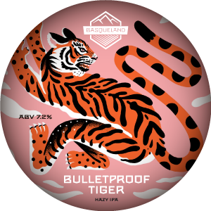 Basqueland Bulletproof Tiger Hazy IPA