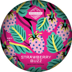 Basqueland Strawberry Buzz Berliner Weisse