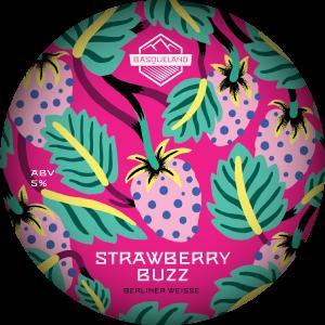 Basqueland Strawberry Buzz Berliner Weisse
