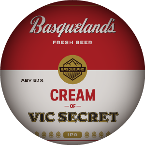 Basqueland Cream of Vic Secret IPA