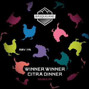 Basqueland Winner Winner Citra Dinner Double IPA