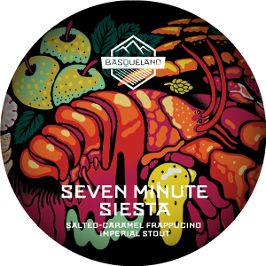 Basqueland Seven Minute Siesta Salted-caramel Frappucino Imperial Stout