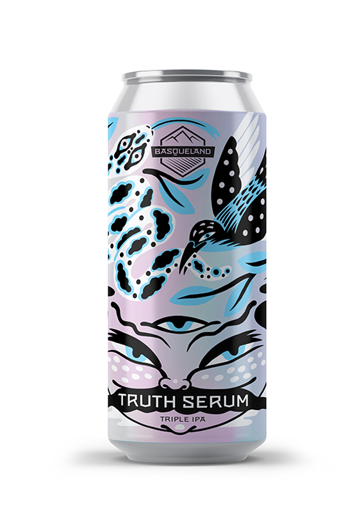 lata cerveza artesana Basqueland truth serum